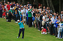 Francesco Molinari of Italy in action during the final round of the BMW PGA Championship played over the West Course at the Wentworth Club on 24th May 2015 in Virginia Water, Surrey, England. Picture Credit / Phil INGLIS