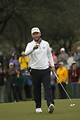 February 3rd 2019, Scottsdale, Arizona, USA;  Branden Grace acknowledges the fans after making a birdie at the final round of the Waste Management Phoenix Open on February 3, 2019, at TPC Scottsdale in Scottsdale, Arizona.