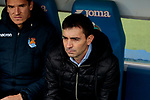 Real Sociedad's coach Asier Garitano during La Liga match between Getafe CF and Real Sociedad at Coliseum Alfonso Perez in Getafe, Spain. December 15, 2018. (ALTERPHOTOS/A. Perez Meca)