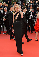 "CANNES, FRANCE. May 19, 2019: Anja Rubik at the gala premiere for ""A Hidden Life"" at the Festival de Cannes.<br /> Picture: Paul Smith / Featureflash"