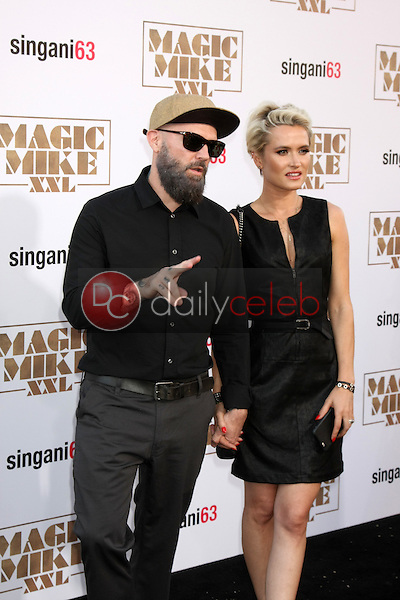 """Fred Durst <br /> at the """"Magic Mike XXL"""" Premiere, TCL Chinese Theater, Hollywood, CA 06-25-15<br /> David Edwards/DailyCeleb.com 818-249-4998"""