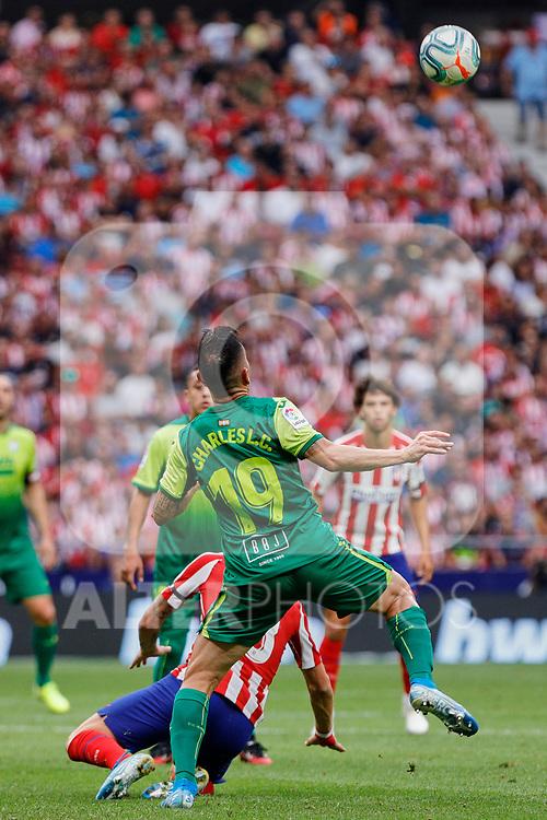 Charles Dias de Oliveira of SD Eibar in action during La Liga match between Atletico de Madrid and SD Eibar at Wanda Metropolitano Stadium in Madrid, Spain.September 01, 2019. (ALTERPHOTOS/A. Perez Meca)