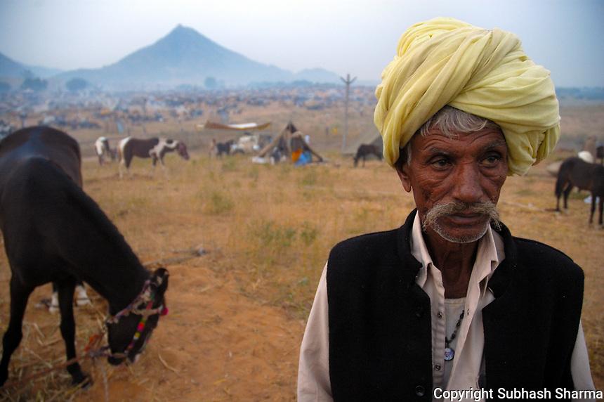 Pushkar Cattle fair,Pushkar,India