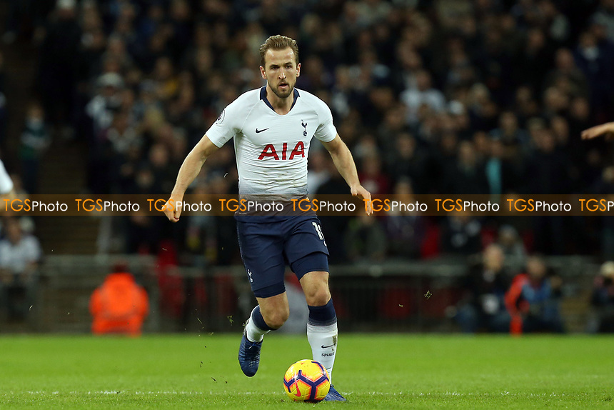 Harry Kane of Tottenham Hotspur during Tottenham Hotspur vs Manchester United, Premier League Football at Wembley Stadium on 13th January 2019