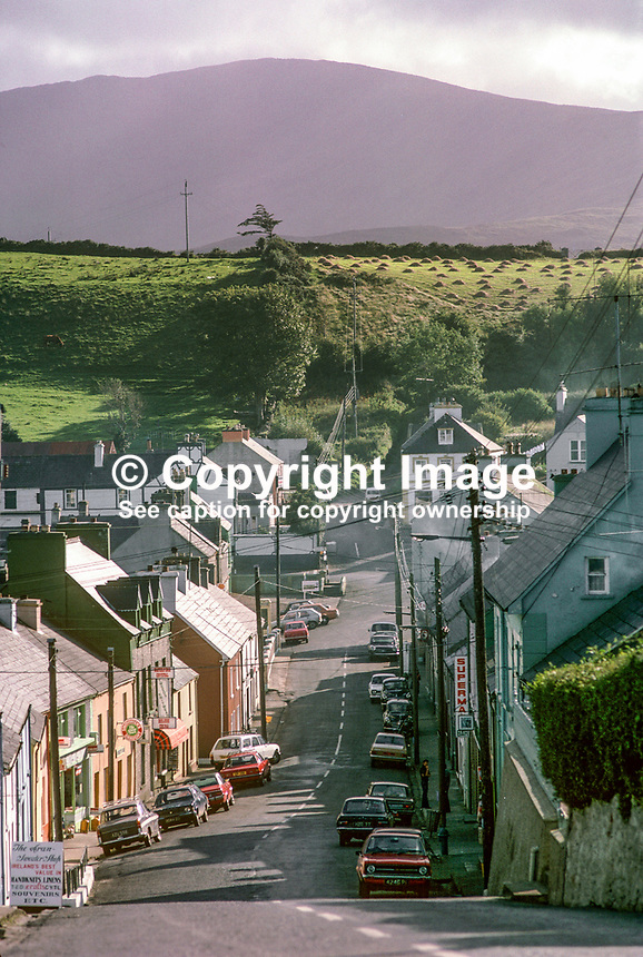 Ardara, village, small town, Co Donegal, Rep of Ireland, 197809000247a..Copyright Image from Victor Patterson, 54 Dorchester Park, Belfast, United Kingdom, UK...For my Terms and Conditions of Use go to http://www.victorpatterson.com/Victor_Patterson/Terms_%26_Conditions.html