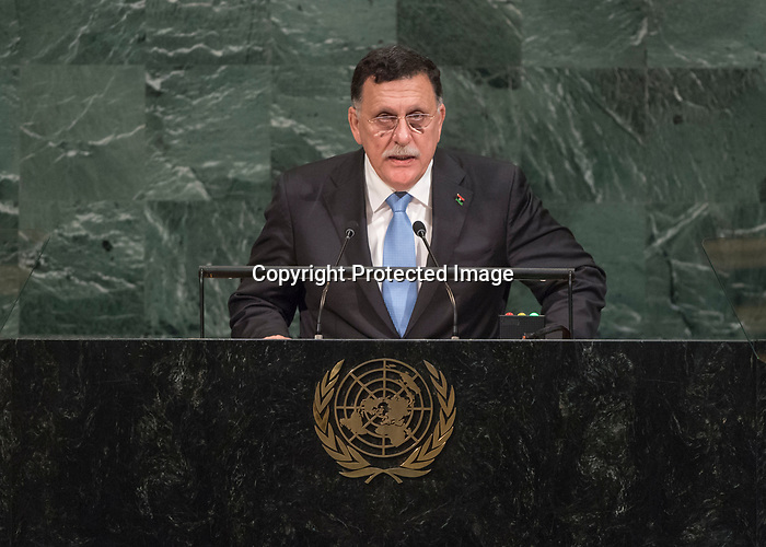 72 General Debate – 20 September <br /> <br /> His Excellency Faiez Mustafa Serraj, President of the Presidency Council of the Government of National Accord of Libya