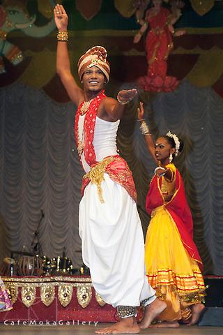 Divali,Hindu festival of light,Amritham Shakti dancers, male dancer