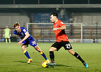 Brighton's Richie Towell during the The Checkatrade Trophy match between AFC Wimbledon and Brighton & Hove Albion Under 21s at the Cherry Red Records Stadium, Kingston, England on 6 December 2016. Photo by Carlton Myrie / PRiME Media Images