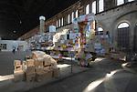 Torino 011, biografia di una città, mostra sulla trasformazione architettonica di Torino. Torino 011, biography of a city, exhibition about the urban transformation of Torino.