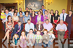 90 YEARS YOUNG: Nora O'Sullivan, Garryruth, Ballymullen (seated centre) enjoying a great time celebrating her 90th birthday with family, nieces, nephews, grandchildren and great grandchildren at the Grand hotel, Tralee on Saturday.