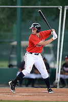 Atlanta Braves outfielder Braxton Davidson (20) during an Instructional League game against the Houston Astros on September 22, 2014 at the ESPN Wide World of Sports Complex in Kissimmee, Florida.  (Mike Janes/Four Seam Images)