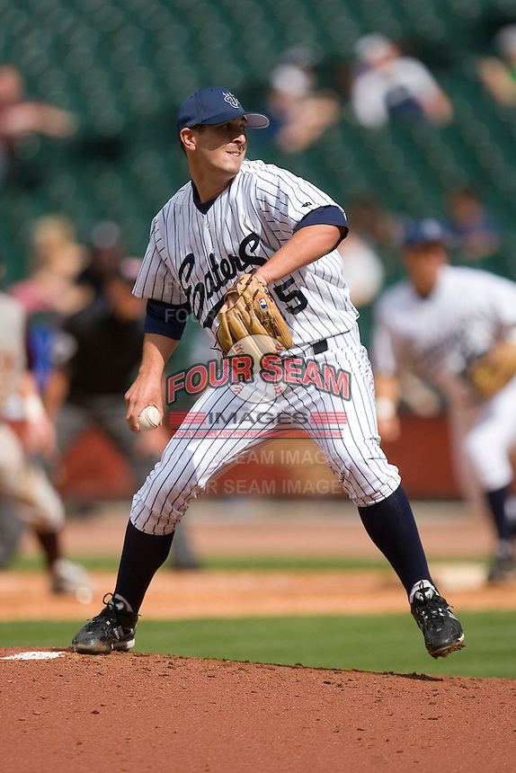 Cory Hamilton #25 of the UC-Irvine Anteaters in action versus the Texas A&M Aggies in the 2009 Houston College Classic at Minute Maid Park February 27, 2009 in Houston, TX.  The Aggies defeated the Anteaters 9-2. (Photo by Brian Westerholt / Four Seam Images)