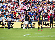 Landover, MD - August 4, 2018: A couple of fans makeit onto the field during the match between Juventus and Real Madrid at FedEx Field in Landover, MD. (Photo by Phillip Peters/Media Images International)