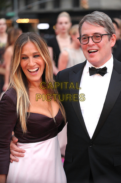 NEW YORK, NY - SEPTEMBER 20: Sarah Jessica Parker and  Matthew Broderick attend New York City Ballet 2016 Fall Gala at David H. Koch Theater on September 20, 2016 in New York City. <br /> CAP/MPI99<br /> &copy;MPI99/Capital Pictures