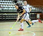 Almere - Zaalhockey  Amsterdam-Rotterdam (m)  . Boris Burkhardt (Adam)   TopsportCentrum Almere.    COPYRIGHT KOEN SUYK