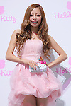 """HARA (KARA), June 29, 2011, posing with Hello Kitty Jewerly as the Swarovski and Hello Kitty collaboration jewelry line - Swarovski presents """"House of Hello Kitty"""" makes a debut at Omotesando Hills in Tokyo, Japan. This is also a charity event to help the Earthquake victims of Japan."""