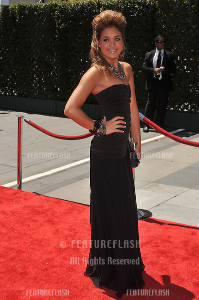 Nicole Gale Anderson at the 2010 Creative Arts Emmy Awards at the Nokia Theatre L.A. Live..August 21, 2010  Los Angeles, CA.Picture: Paul Smith / Featureflash