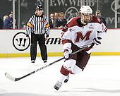 Adam Phillips (UMass - 27) - The University of Massachusetts (Amherst) Minutemen defeated the University of Vermont Catamounts 3-2 in overtime on Saturday, January 7, 2012, at Fenway Park in Boston, Massachusetts.