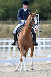 Stapleford Abbotts. United Kingdom. 08 September 2019. Class 10. British dressage. Brook Farm training centre. Essex. UK.~ 08/09/2019.  MANDATORY Credit Garry Bowden/Sport in Pictures - NO UNAUTHORISED USE - 07837 394578