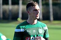 SOTOGRANDE  - Voetbal, Trainingskamp FC Groningen, seizoen 2017-2018, 11-01-2018,  FC Groningen speler Yoell van Nieff