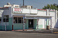 Bono's Restaurant and Deli is a historic restaurant in Fontana, California. The restaurant opened in 1936 to serve travelers on U.S. Route 66, it originally operated as a produce stand. In 1943, increased traffic on the highway prompted the owners to expand their operations, and the current building was constructed as a full-service restaurant.