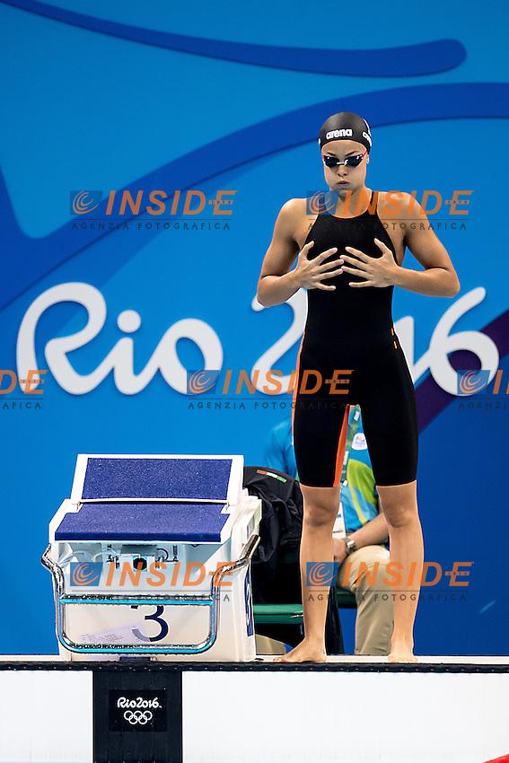 Carraro Martina ITA<br /> 100 breaststroke women<br /> Rio de JaneiroXXXI Olympic Games <br /> Olympic Aquatics Stadium <br /> Swimming heats 07/08/2016<br /> Photo Giorgio Scala/Deepbluemedia/Insidefoto