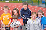Brian O'Driscoll, Laura O'Driscoll, Mary Kennedy all Farranfore, Niamh Clifford Firies, Tomas and Emma Sexton Ardfert enjoying the Farranfore/Maine Valley AC open sports day in Castleisland on Sunday   Copyright Kerry's Eye 2008