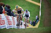 Tom Meeusen (BEL/Telenet-Fidea) &amp; Zdenek Stybar (CZE/OmegaPharma-Quickstep)<br /> <br /> GP Mario De Clercq<br /> Hotondcross 2014