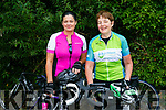 At the The Ring of North Kerry Cycle starting at FINUGE GAA on Saturday were Claire Hillard and Colleen McElligott