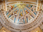 Dome, Parrocchia Santa Maria in Porto, Roman Catholic Church, Ravenna, Italy