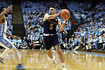 CHAPEL HILL, NC - FEBRUARY 12: Notre Dame's Matt Farrell. The University of North Carolina Tar Heels hosted the University of Notre Dame Fighting Irish on February 12, 2018 at Dean E. Smith Center in Chapel Hill, NC in a Division I men's college basketball game. UNC won the game 83-66.
