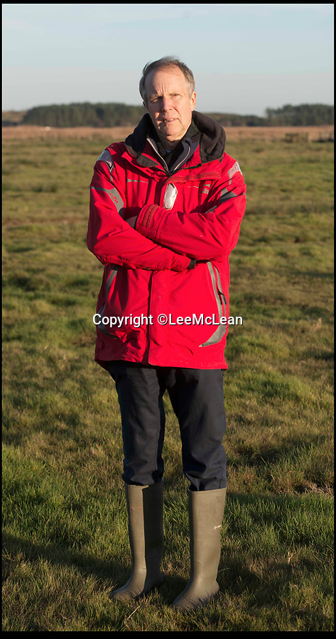 BNPS.co.uk (01202 558833)Pic: LeeMcLean/BNPS<br /> Peter Sibthorp (66) Co. Chair of Ridge Moor Action Group. Peter stand on the proposed flood area, Arne Moors Dorset.<br /> <br /> Plans to flood an area of grassland in a nature reserve in a bid to protect wading birds and their habitats from being lost have been unveiled.<br /> <br /> The RSPB (Royal Society for the Protection of Birds) has teamed up with the Environment Agency and Natural England on plans to create a new inter-tidal habitat at Arne Moors near Poole Harbour, Dorset.<br /> <br /> But residents near the proposed site say the plans would put them at risk of flooding from run-off rainwater and feel the agencies are putting wading birds above people.<br /> <br /> They also raised concerns that their community is being sacrificed for the sake of wealthy residents in Poole and the exclusive resort of Sandbanks.