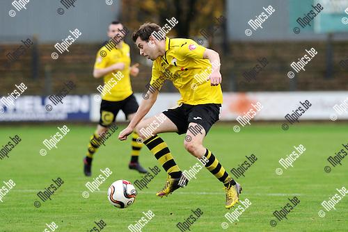 2014-11-23 / Voetbal / seizoen 2014-2015 / Berchem Sport / Tim Verstraeten<br /><br />Foto: mpics.be