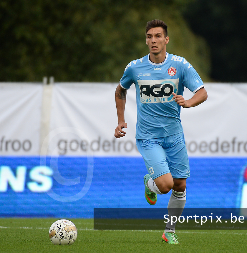 KV Kortrijk  : Zarko Tomasevic <br /> foto VDB / BART VANDENBROUCKE