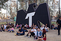 "MEXICALI, MEXICO - June 8  Fans on the Tecate Location ""Fan Area"" June 8, 2019 in Mexicali, Mexico.<br /> Tecate Location Mexicali 2019 is one of the main music festivals nationwide and in the state, Band line up<br /> CAIFANES, CAMILO VII, DRAKE BELL, LNG / SHT, SERBIA<br /> (Photo by Luis Boza/VIEWpress)"