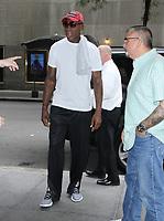 Dennis Rodman Seen in NYC