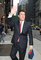 May 03, 2012:  Stephen Colbert at Late Show with David Letterman in New York City. Credit: RW/MediaPunch Inc.