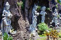 Bali, Tabanan. A group of statues just outside Tabanan city.