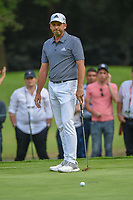 Sergio Garcia (ESP) watches his putt on 15 during round 3 of the World Golf Championships, Mexico, Club De Golf Chapultepec, Mexico City, Mexico. 2/23/2019.<br /> Picture: Golffile | Ken Murray<br /> <br /> <br /> All photo usage must carry mandatory copyright credit (© Golffile | Ken Murray)