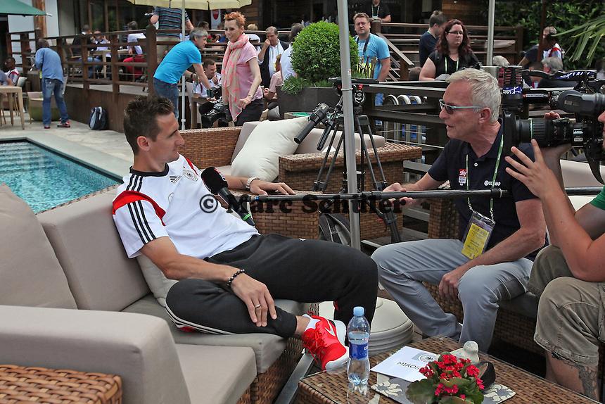 Miroslav Klose - Media Day der Deutschen Nationalmannschaft zur WM-Vorbereitung in St. Martin