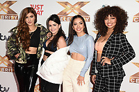 Sofia Oliveira, Wendii Sarmiento, Laura Buitrago and Alondra Martinez (V5)<br /> at the photocall of X Factor Celebrity, London<br /> <br /> ©Ash Knotek  D3524 09/10/2019