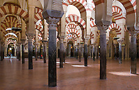 arches, Mezquita, Cordoba, Spain