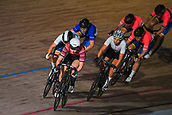 7th February 2019, Melbourne Arena, Melbourne, Australia; Six Day Melbourne Cycling; Manon Lloyd of Great Britain leads the 7 1/2km Scratch Race