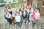 Mass of fun: Mary Doyle and some of the children who stepped it out at the Jimmy Hickey School of Dance Feis at Scoil Realta na Maidne, Listowel on Sunday.