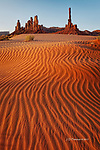 The Totem Pole, Monument Valley, Arizona
