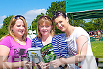 FORM: Castleisland Ladiies who looked over the form of the Horses on Saturday at the Castleisland Races, Gina and Kay Reidy and Ruth O'Connor....................................... ....