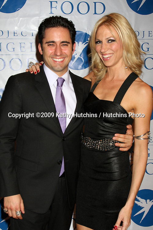 John Lloyd Young & Deborah Gibson.arriving at the  5th Annual inCONCERT To Benefit Project Angel Food.Howard Fine Theater.Los Angeles,  CA.October 17, 2009.©2009 Kathy Hutchins / Hutchins Photo.