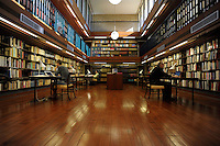 La biblioteca dell' accademia di Danimarca..The library of the Academy of Denmark.