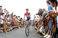 Niki Terpstra during the stage of La Vuelta 2012 between Barakaldo and Valdezcaray.August 21,2012. (ALTERPHOTOS/Acero) /NortePhoto.com