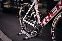 Polka Dot bike for Tom Skujins (LAT/Trek Segafredo)<br /> <br /> Stage 7: Fougères > Chartres (231km)<br /> <br /> 105th Tour de France 2018<br /> ©kramon